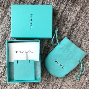 Tiffany necklace gift box